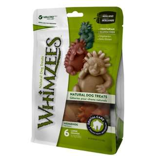 Whimzees Natural Dog Chews – Hedgehog
