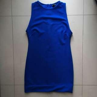Zip Up Bodycon Dress