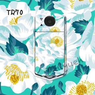 ☘卡西歐獨家浮雕花朵超薄TR專用造型機身貼紙💁🏼少量現貨