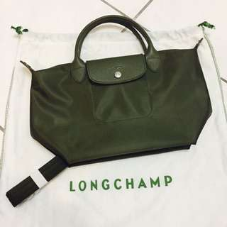 🚚 Longchamp兩用斜背包-軍綠色