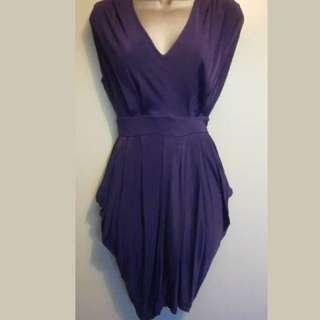 Miss Selfridge Purple Dress