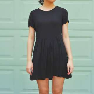 Black Light Mini Dress