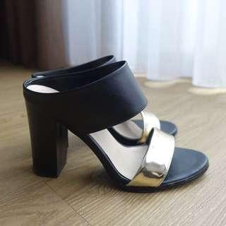 MIXXO 粗高跟涼鞋