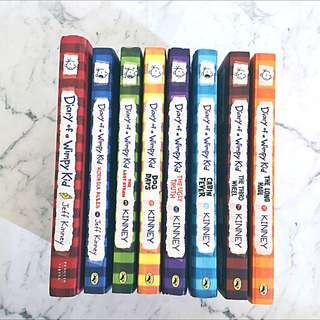 Diary Of A Wimpy Kid Books!