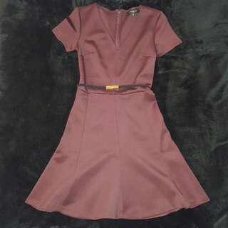 Dynamite Purple Dress