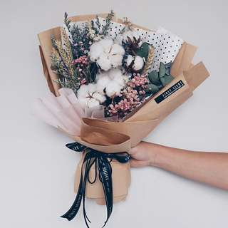 Korean Style Inspired - Everlasting Dried Bouquet
