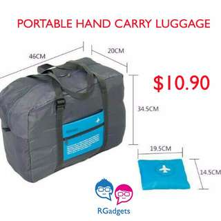 Travel Bag Portable Hand Carry Light Travelling Luggage