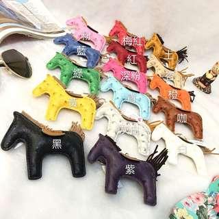 正韓 小馬吊飾 糖果馬 糖果色 12色馬