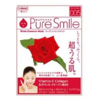 Pure Smile - Essence Mask #005 Rose 1 pc