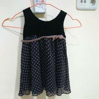 Polkadot Dress size 1 Th