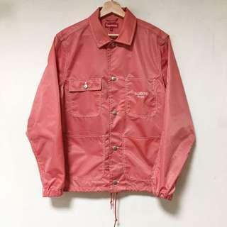 Supreme Nylon  粉紅 風衣 教練外套