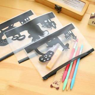 Tempat Pensil / Tempat Make Up Zipper