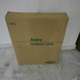 Unopened And Unused Astro Dish