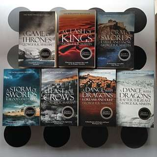 A Game of Thrones: A Song of Ice and Fire Book Set by George R. R . Martin