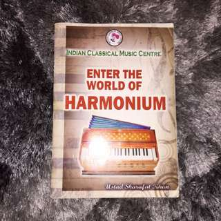 Enter The World Of Harmonium Music Text Book