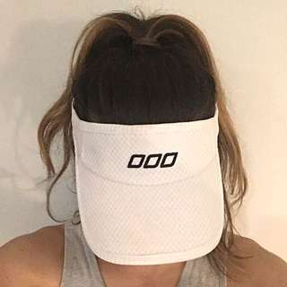 AUTHENTIC LORNA JANE WHITE VISOR