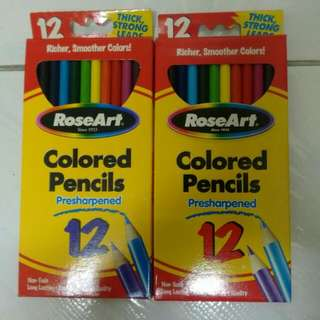 RoseArt Coloured Pencils (12/Box)