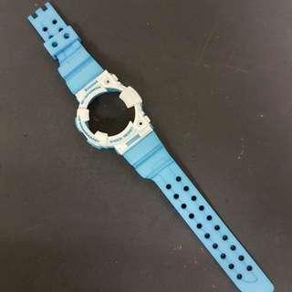 G Shock Custom Dye (smurf Or Doraemon) For Gwf/ Gf 1000 Frogman