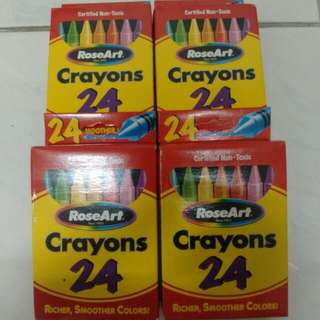 RoseArt Crayon (24/Box)
