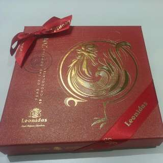 Leonidas 19 pieces delux chocolates in gift box 2017 Year Of Rooster Collection