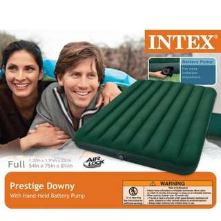 Intex Prestige Downy Air bed With Battery Pump