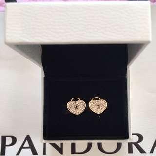 Pandora Gold Hearts Charms