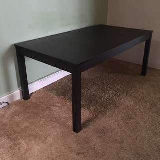 Dark Timber Dining Table