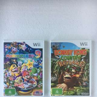 Donkey Kong Country And Mario Party
