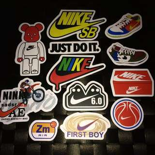 Sticker Waterproof High Quality - Nike Assorted Stickers