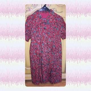 Tailor Made Batik Dress