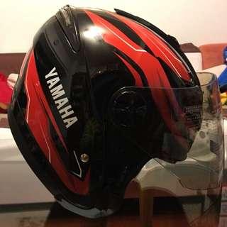 Yamaha原廠紅帽