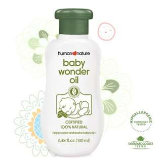 Natural Baby Wonder Oil