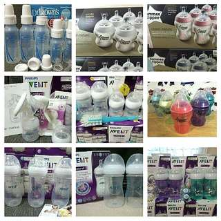 Baby Feeding Products Avent, Tommee Tippee, & Dr. Brown's