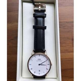 全新 日本帶回 DW手錶 DW00100092 Dapper Sheffield 34mm 玫瑰金 正品 現貨
