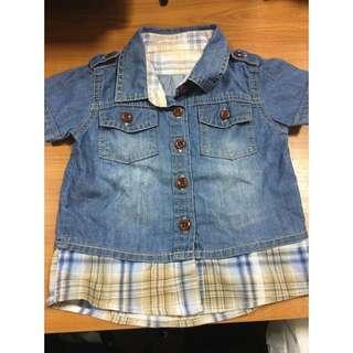 Shirt/Kemeja baby (no Brand)