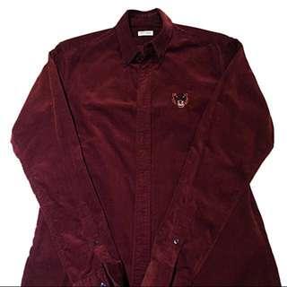 Kenzo Corduroy Shirt