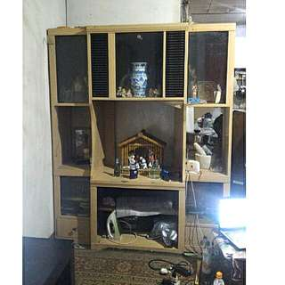 PRE LOVED Sala Cabinet (Items Not Included)