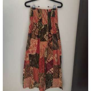 batik rok panjang preloved stuff