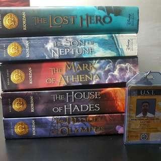 Heroes Of The Olympus By Rick Riordan