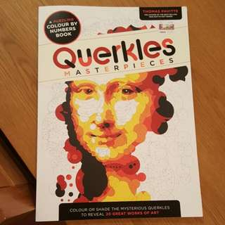 Adult Colouring Book - QUERKLES Masterpieces