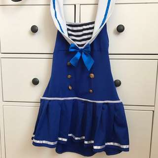 Sailor Costume Set With Matching Hat
