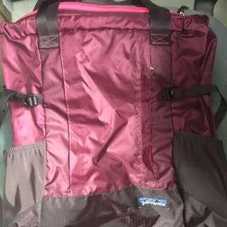 Patagonia tote bag+backpack