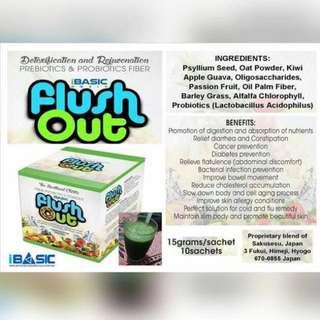 Flushout Fiber Juice Made In Japan