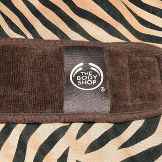 Body shop head spa velcro wrap
