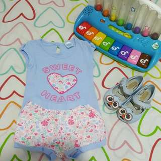 Crib Couture Top And Short Size 6months