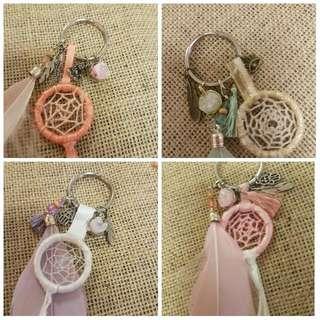 Hand-Made Charmed Keychain
