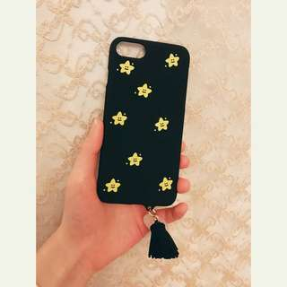 iPhone 7/6/6s流蘇星星手機殻
