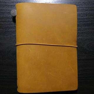 Travellers Notebook Passport Camel