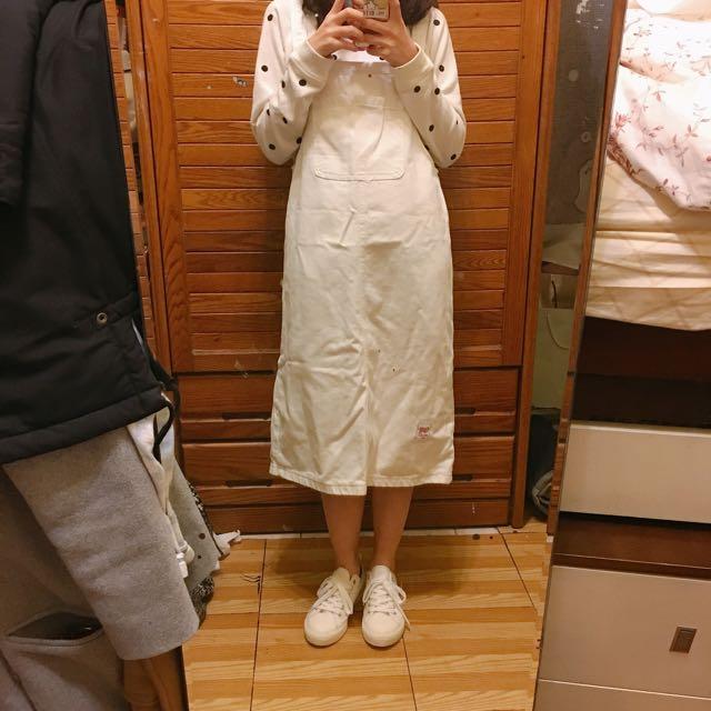 含運🌟 實拍 白色吊帶裙