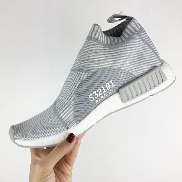 finest selection 91f82 4ff12 Adidas NMD CS1 Grey City Sock